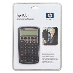 Hewlett-Packard HEW10BII 10bll Financial Calculator, 12-Digit LCD
