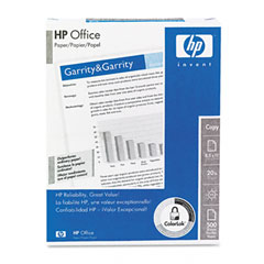 Hp 11310-2 Office Paper, 92 Brightness, 3-Hole Punched, 20Lb, 8-1/2 X 11, White, 500/Ream