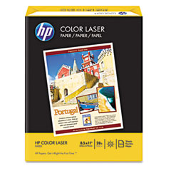Hewlett-Packard HEW205000 Color Laser Paper Convenience Pack, 98 Brightness, 28lb, 8-1/2 x 11, 2500/Carton