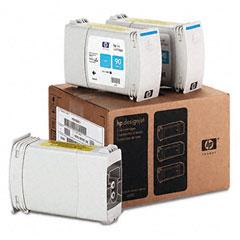 Hewlett-Packard HEWC5083A C5083A (HP 90) Ink, 3/Pack, Cyan