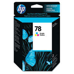 Hewlett-Packard HEWC6578DN C6578DN (HP 78) Ink, 450 Page-Yield, Tri-Color