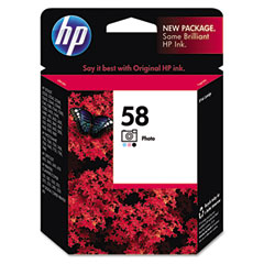 Hewlett-Packard HEWC6658AN C6658AN (HP 58) Ink, 140 Page-Yield, Tri-Color