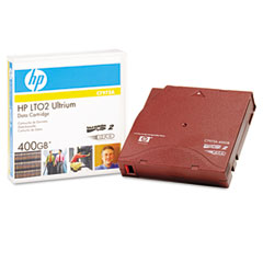 "Hp C7972A 1/2"" Ultrium Lto 2 Cartridge, 1998Ft, 200Gb Native/400Gb Compressed Capacity"