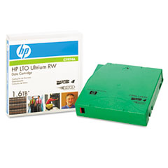"Hp C7974A 1/2"" Ultrium Lto-4 Cartridge, 2600Ft, 800Gb Native/1.6Tb Compressed Capacity"