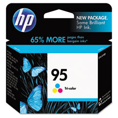 Hewlett-Packard HEWC8766WN C8766WN (HP 95) Ink, 330 Page-Yield, Tri-Color
