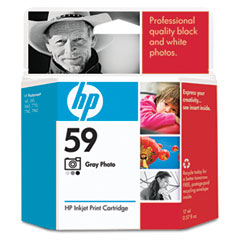 Hewlett-Packard HEWC9359AN C9359AN (HP 59) Ink, 100 Page-Yield, Photo Gray