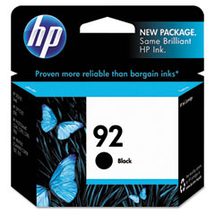 Hewlett-Packard HEWC9362WN C9362WN (HP 92) Ink, 220 Page-Yield, Black