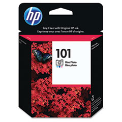 Hewlett-Packard HEWC9365AN C9365AN (HP 101) Ink, 80 Page-Yield, Photo Blue