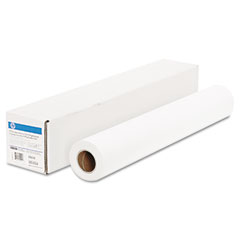 "Hp CG843A Everyday Adhesive Matte Polypropylene, 180 G/M2, 2"" Core, 24"" X 75 Ft, White"
