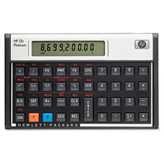 Hp F2231AA 12C Platinum Financial Calculator, 10-Digit Lcd