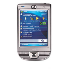 Hewlett-Packard HEWFA979AA iPAQ 111 Enterprise Handheld PDA, 624 MHz, 4 inch TFT, 64 MB SDRAM, Silver