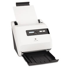 Hp L2706A Scanjet 7000 Sheet-Feed Scanner, 600 Dpi, White