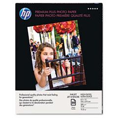 Hewlett-Packard HEWQ1785A Premium Plus Photo Paper, 75 lbs., High-Gloss, 8-1/2 x 11, 50 Sheets/Pack