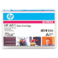 Hewlett-Packard HEWQ1997A 8 mm AIT-1 Cartridge, 170m, 35GB Native/70GB Compressed Capacity