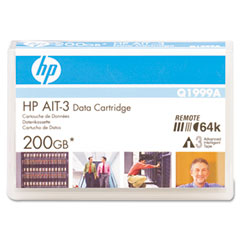 Hewlett-Packard HEWQ1999A 8 mm AIT-3 Cartridge, 230m, 100GB Native/200GB Compressed Capacity