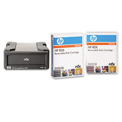 Hp Q2042AA Rdx Removable Disk Backup System, Usb, 500Gb