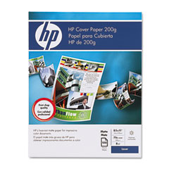 Hp Q2413A Cover Paper, 75 Lbs., 96 Brightness, 8-1/2 X 11, White, 100 Sheets