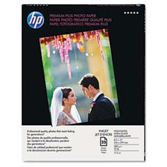 Hewlett-Packard HEWQ6568A Premium Plus Photo Paper, 75 lbs., High-Gloss, 8-1/2 x 11, 25 Sheets/Pack