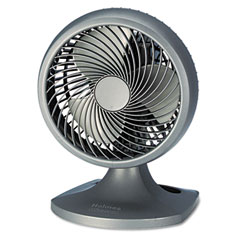"Holmes HAOF90-UC Blizzard 9"" Three-Speed Oscillating Table/Wall Fan, Charcoal"