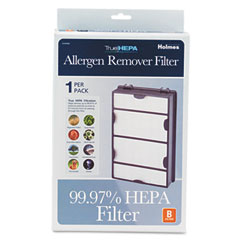Holmes HAPF600-U3 Replacement Modular Hepa Filter For Air Purifiers, 10 X 6 1/2 X 2