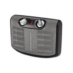 Holmes HCH4266-U Twin Ceramic 1500W Heater W/Comfort Control Thermostat, 6-5/8 X 11-1/4 X 8-3/8