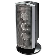 Holmes HCH6150-U Triple Ceramic Heater W/Comfort Control Thermostat, Gray