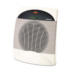 Holmes HLSHEH8001U Energy Saving 1500W Heater Fan, Plastic Case, 7-3/4 x 12-3/8 x 14-1/2, Black/GY