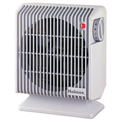 Holmes HFH105-UM Compact Fan, Gray, 4.84W X 8.19D X 9.92H