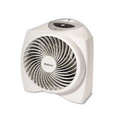 Holmes HFH2986-U One-Touch Whisper Quiet 1500W Power Heater, 11-1/2W X 9D X 11H, White