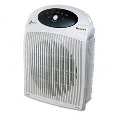Holmes HFH442-UM 1500W Heater Fan W/Alci Heater, Plastic Case, 10-1/4 X 6-1/2 X 12-1/2, White