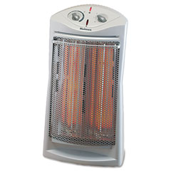Holmes HQH307 Prismatic Quartz Tower Heater W/Two Heat Settings, 14W X 9-3/4D X 24H