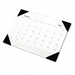 House Of Doolittle 0124 Workstation-Size One-Color Monthly Desk Pad Calendar, 18-1/2 X 13, 2012