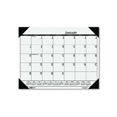 House Of Doolittle 124-71 Ecotones Woodland Green Monthly Desk Pad Calendar, 22 X 17, 2012
