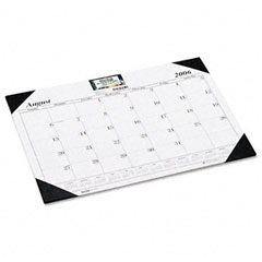 House Of Doolittle 128-02 Economy 17-Month Academic Desk Pad Calendar, 22 X 17, 2012-2013