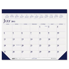 House of doolittle - two-color academic 14-month desk pad calendar, 22 x 17, sold as 1 ea