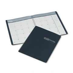 House Of Doolittle 262-07 Ruled Monthly Planner, 14-Month December-January, 8-1/2 X 11, Blue, 2011-2012