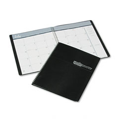 House Of Doolittle 265-02 Academic Ruled Monthly Planner, 14-Mo. July-August, 8-1/2 X 11, Black, 2011-2012