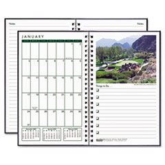 House Of Doolittle 26642 Monthly Pocket Size Golf Course Appointment Planner, 5 X 8, 2012