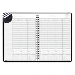 House Of Doolittle 271-39 Weekly Planner W/Expense Log, 8-1/2 X 11, Blue, 2012