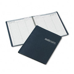 House Of Doolittle 272-07 Professional Weekly Planner, 15-Minute Appointments, 8-1/2 X 11, Blue, 2012