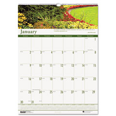 House of doolittle - gardens of the world monthly wall calendar, 12 x 16-1/2, sold as 1 ea