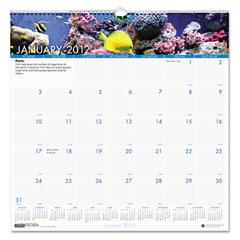 House Of Doolittle 3641 Sea Life Monthly Wall Calendar, 12 X 12, 2012