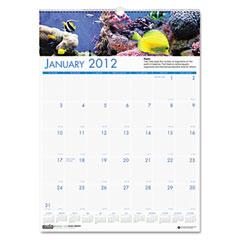 House Of Doolittle 3642 Sea Life Scenes Monthly Wall Calendar, 12 X 16-1/2, 2012