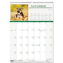 House Of Doolittle 3651 Puppies Monthly Wall Calendar, 12 X 12, 2012