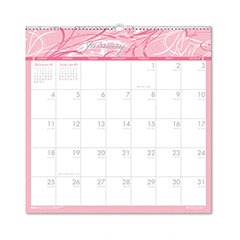 House Of Doolittle 3671 Breast Cancer Awareness Monthly Wall Calendar, 12 X 12, 2012