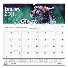 House Of Doolittle 3731 Wildlife Scenes Monthly Wall Calendar, 12 X 12, 2012