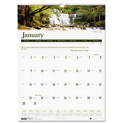 House Of Doolittle 3812 Waterfalls Of The World Monthly Wall Calendar, 12 X 16-1/2, 2012