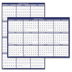 House Of Doolittle 3962 Laminated Write-On/Wipe-Off Jumbo Yearly Wall Calendar, 66 X 33, 2012