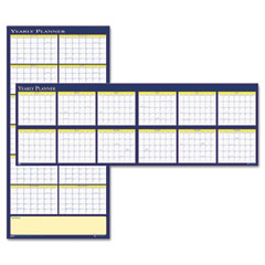 House Of Doolittle 3974 Reversible Yearly Wall Planner, 60 X 26, 2012