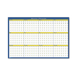 House of doolittle - 12-month laminated wall planner, 36 x 24, sold as 1 ea